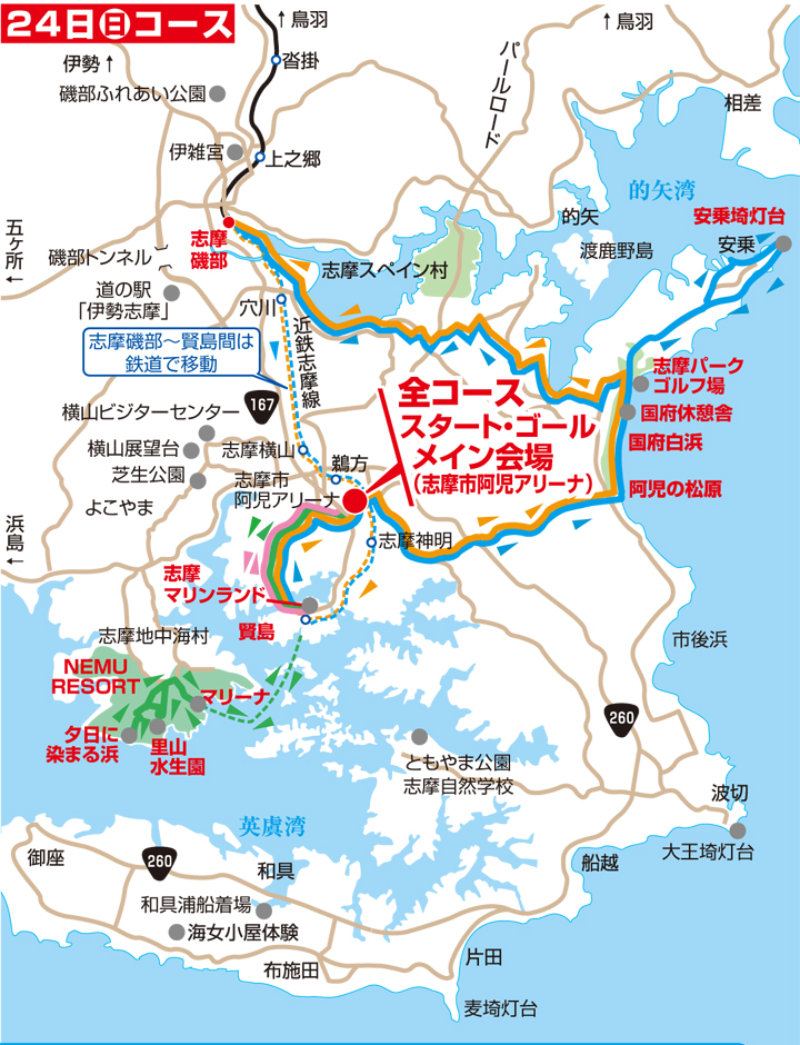 2020年5月24日コース図